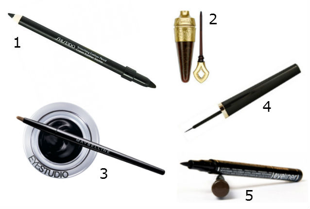 les types d'eye liner