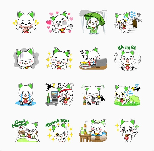 stickers Line