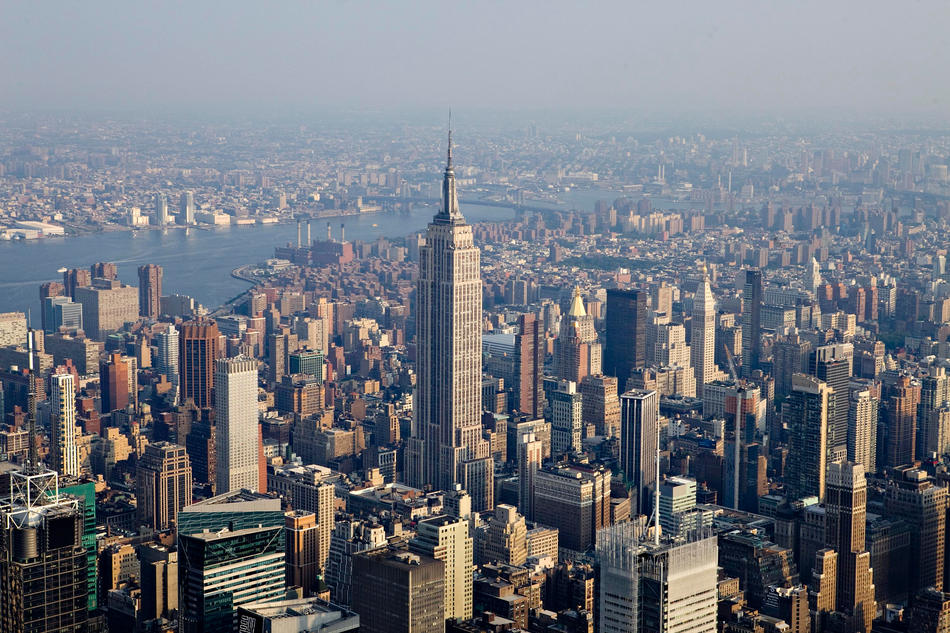 Point de vue de New York : Empire State Building