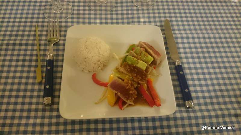 Plat du chef William La Belle assiette