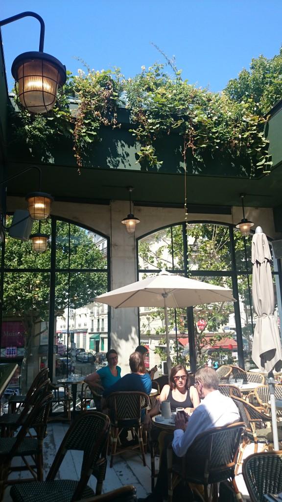 Patio brasserie barbès