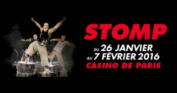Avis Stomp Casino de Paris