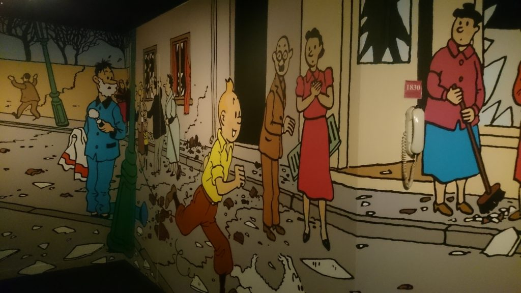 Expo Hergé à Paris