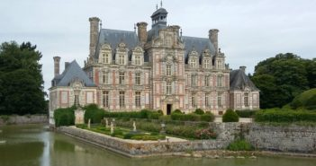 Visite château Beaumesnil Normandie