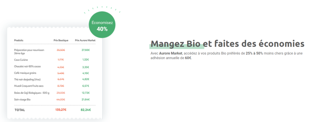 Consommer bio pas cher